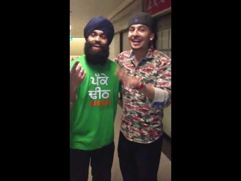 Krish alongside J Star Singing Gabru