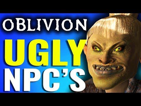 Ugliest NPC's in OBLIVION - Elder Scrolls