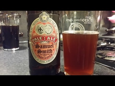 (4K) Samuel Smith Organic Pale Ale | British Beer Review