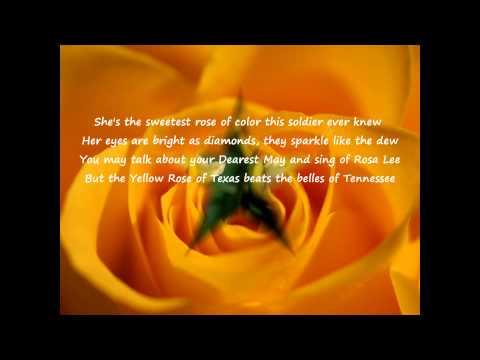 Bobby Horton - The Yellow Rose Of Texas (Lyrics)