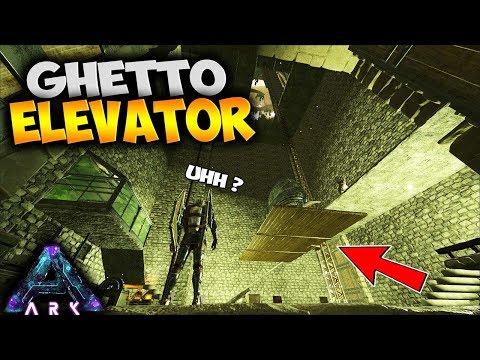 BASE BUILDING!  GHETTO ELEVATOR & ZIP LINES!  (Ark Survival Evolved Aberration Pooping Evolved Ep 4)