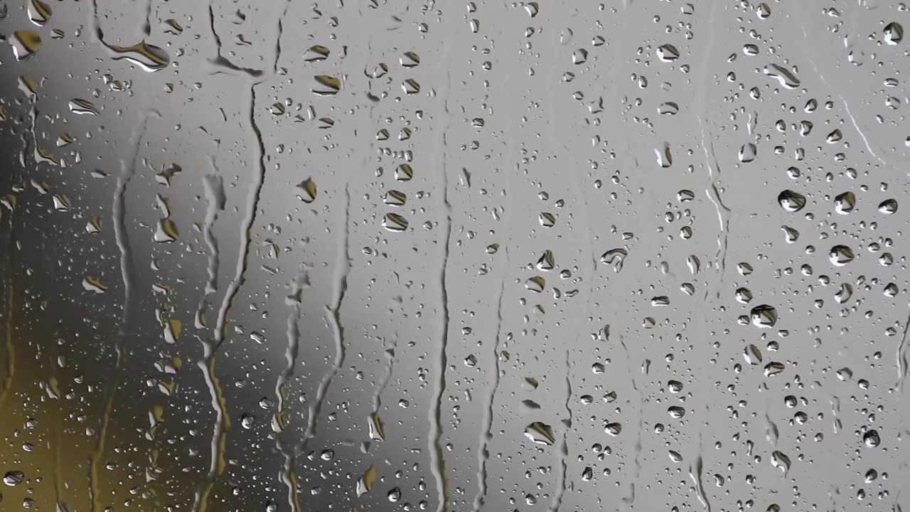 Анимация капель дождя основном