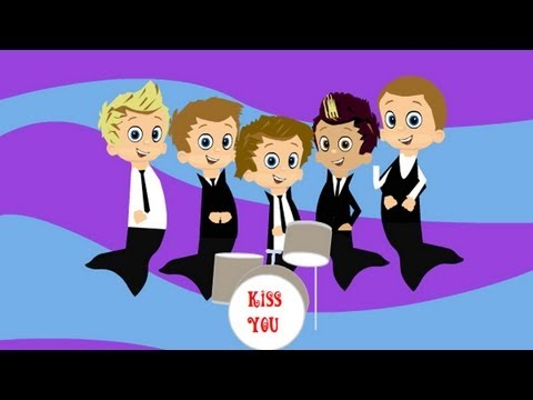 One Direction - Kiss You (Bubble Guppies Version)