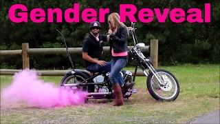 motorcycle gender reveal