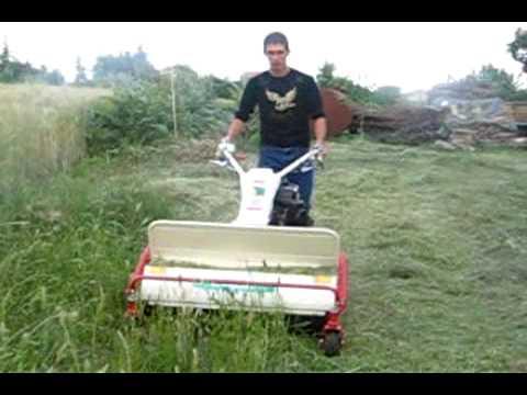 Taglio erba alta con trinciasarmenti orec doovi for Bcs 602 con piatto taglia trincia erba