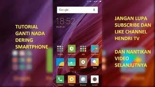 Cara Setting Nada Dering di Smartphone Xiaomi Redmi Note 4x