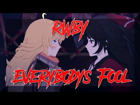 .:RWBY Yang/Raven {{Everybody's Fool AMV}}:.