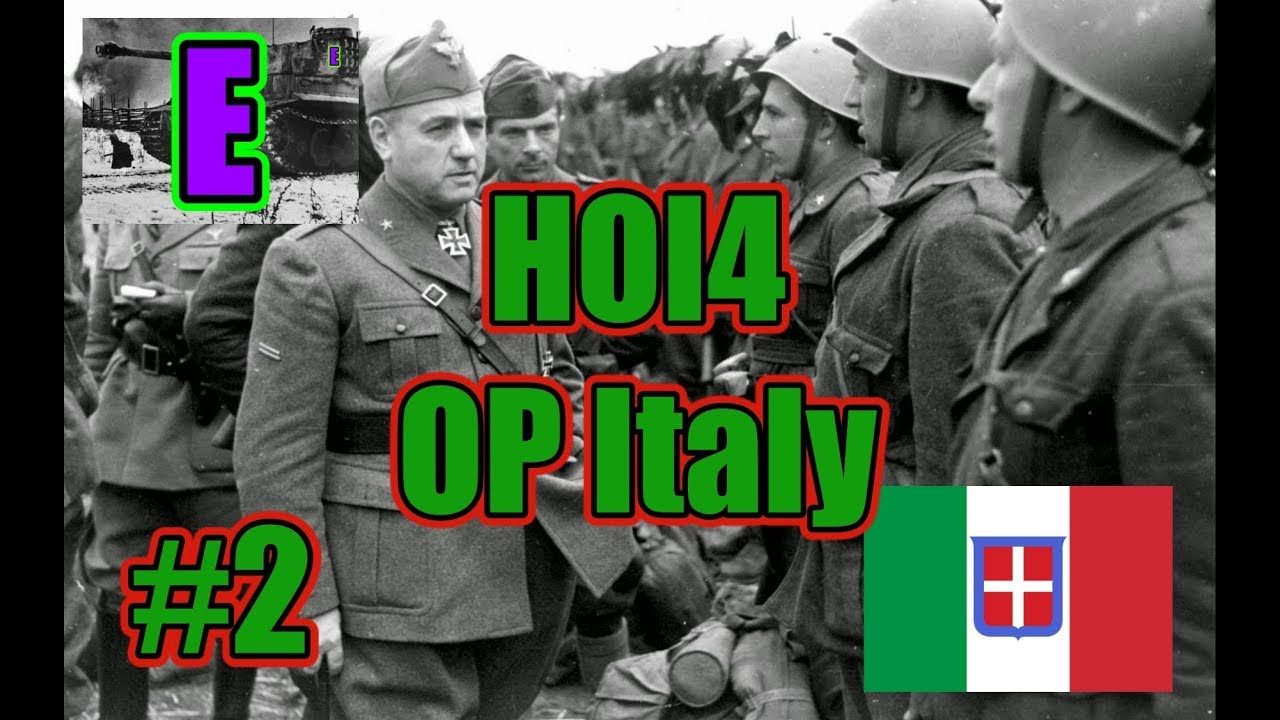 HOI4- The OP Italy Build- How to Dominate France