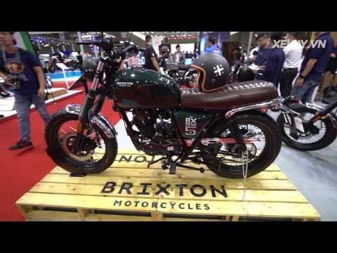 """[XEHAY.VN] Chi tiết Brixton BX 125cc - """"tân binh"""" hoàn toàn mới tại Việt Nam"""
