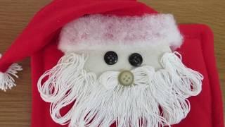 Decoração Para o Natal – Porta Papel Higiênico Papai Noel