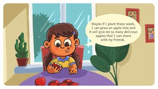 Appy, The Apple Plant | Stories for kids | Kids Books Read Aloud | Come Sing With Us