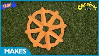 CBeebies Makes | How to make a Dharma Wheel