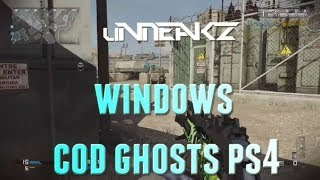 """Windows."" Cod Ghosts Ripper TDM Gameplay"