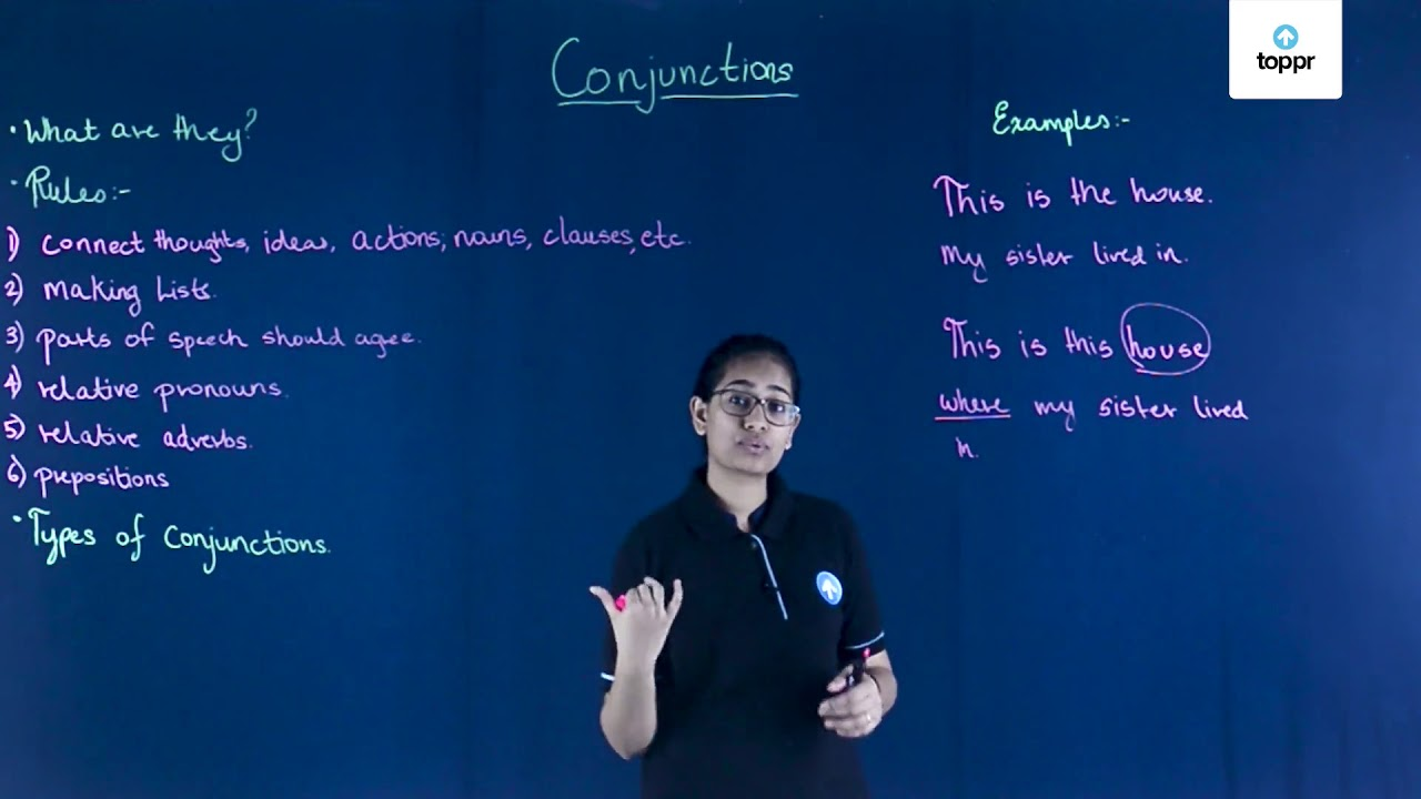 Use of Conjunctions: Types of Conjunctions, Examples, Videos