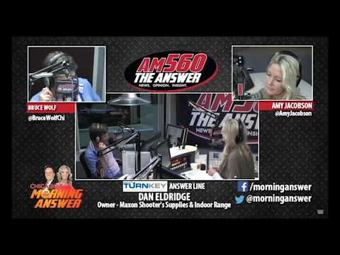 """Dan E. talks bump stocks and """"Why"""" vs """"How"""" with w/ Bruce Wolf & Amy Jacobsen on AM560 The Answer"""