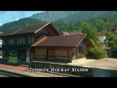 Bern to Interlaken Ost (East), Switzerland. A train Journey
