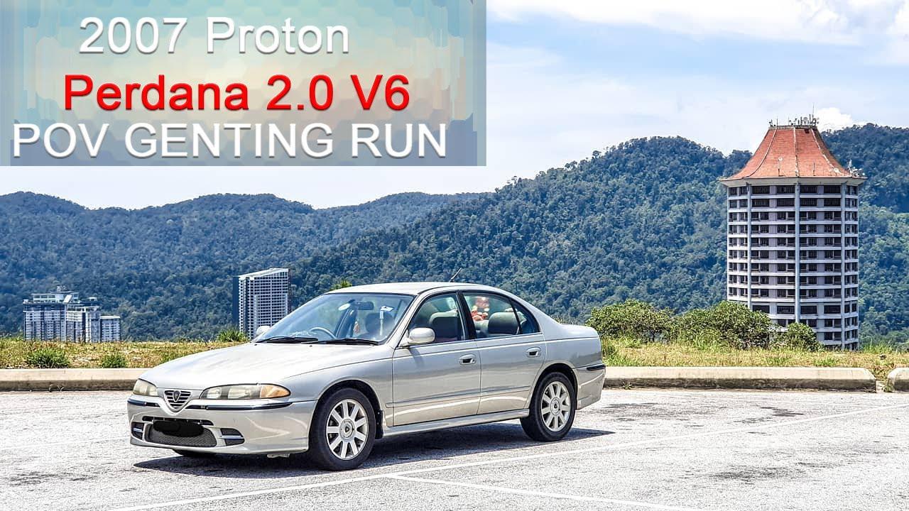Download FAST!!! 2007 Proton Perdana 2.0 V6 | Malaysia #POV [Genting Run 冲上云霄]