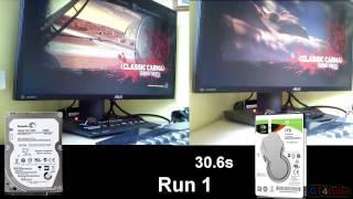 Carmageddon Max Damage - SSHD Thin 2011 Vs SSHD FireCuda 2016 - Test Load Speed
