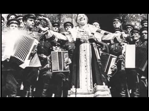 Клип Лидия Русланова - Валенки
