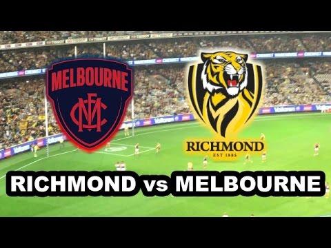 RICHMOND vs MELBOURNE - AFL 2017