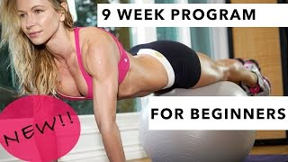 NEW 9 WEEK WORKOUT PROGRAM FOR BEGINNER - FREE IN THE ZGYM!!