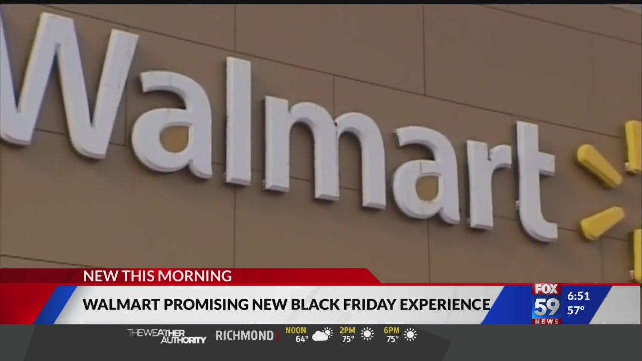 Walmart making changes for Black Friday shopping