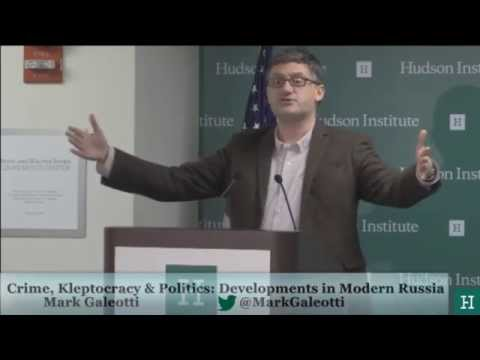Crime, Kleptocracy, and Politics: Developments in Modern Russia