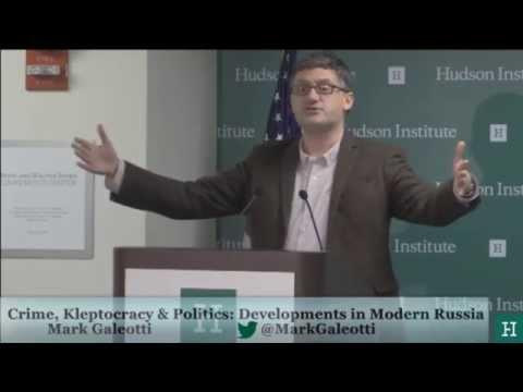 Crime, Kleptocracy, and Politics: Developments in Modern Russia