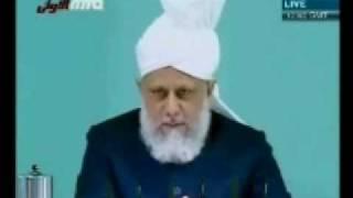 Проповедь Хазрата Мирзы Масрура Ахмада (25-12-09) часть 4
