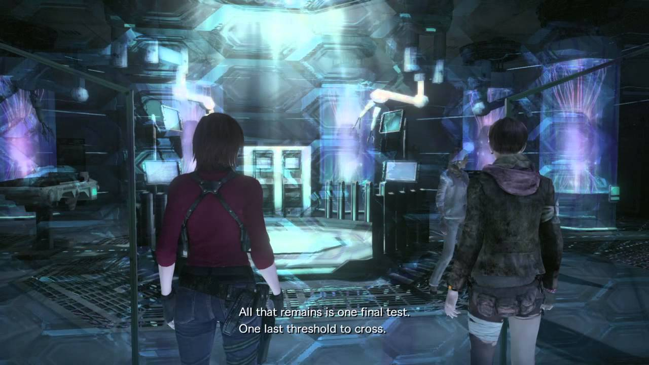 Resident Evil Revelation 2 Alex S Wesker Death Youtube