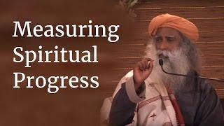Gambar cover Measuring Spiritual Progress - Sadhguru