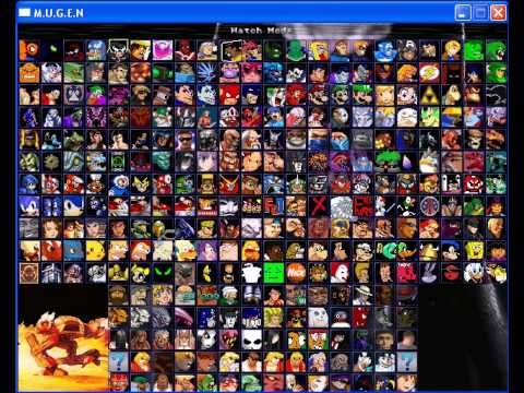 my final mugen roster 1082 characters