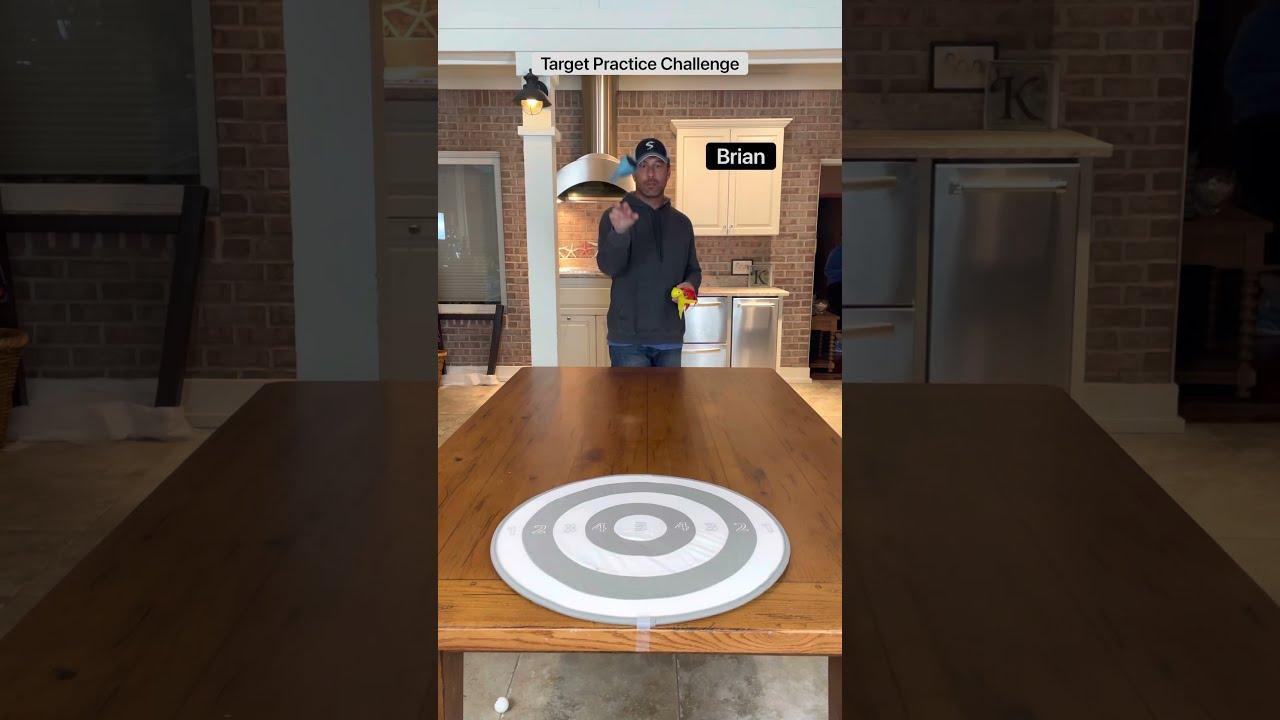 Target Practice Challenge!!🎯🎯🎯