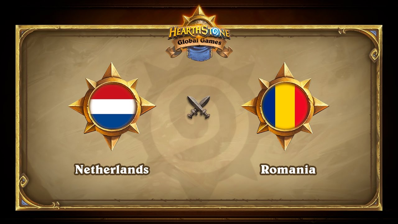 Netherlands vs Romania, Hearthstone Global Games Group Stage