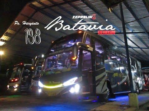 "Trip Report : Naik Po.Haryanto HM138 ""Batavia Reborn"" ZeppelinG3 Hino RK8 R260 Tangerang - Solo"