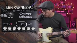 Quilter Superblock US demo by RJ Ronquillo