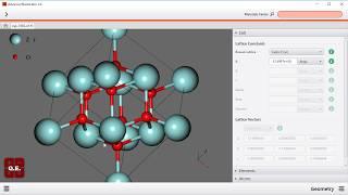 ナノ材料解析統合GUI Advance/NanoLabo 使用デモ08:スラブ系モデル作成