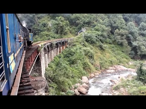 Steam Locomotive in India - Nilgiri Mountain Railway