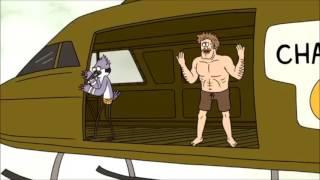 Regular Show - Mordecai vs Margaret's Dad