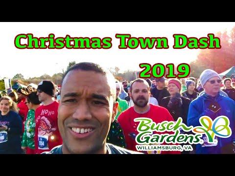 Busch Gardens Christmas Town Dash 2019