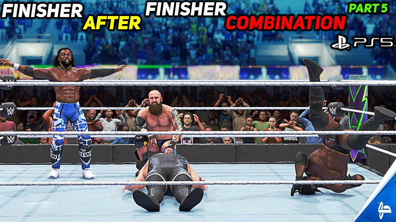 WWE 2K20 Finisher After Finisher Combination Part 5! PS5
