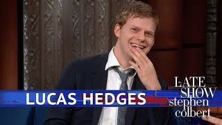 Lucas Hedges And Stephen Loosen Their Collars