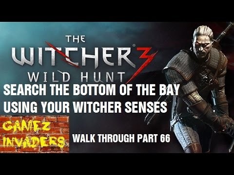 Search the Bottom of the Bay Using Witcher Senses Witcher 3 Play Through Part 66