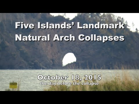Five Islands' Landmark Natural Arch Collapses