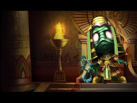Skin Amumu Pharaon - League of Legends