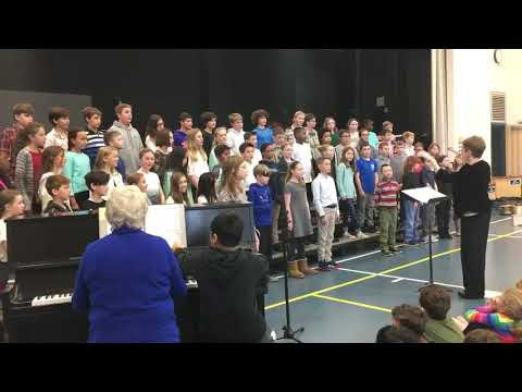 Blackbird-Wallingford Elementary School 5th Grade Chorus