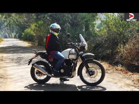 Royal Enfield Himalayan Fi ABS First Ride Review #Bikes@Dinos