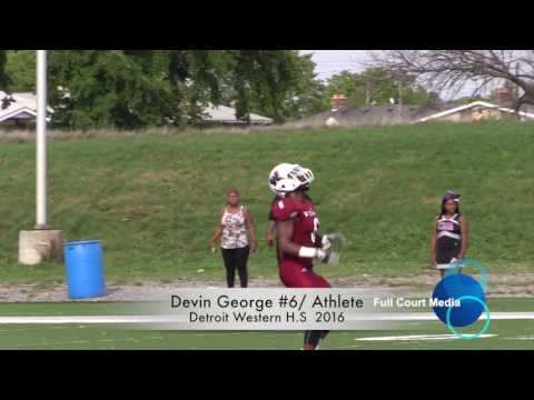 Devin George Football Highlights