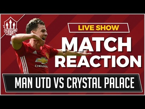 Manchester United vs Crystal Palace 2-0 | HARROP & POGBA GOALS WIN IT!
