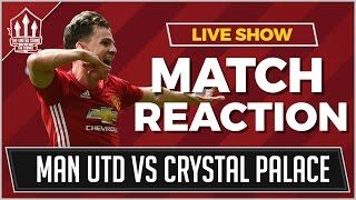 Video Gol Pertandingan Manchester United vs Crystal Palace